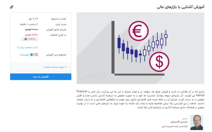 آموزش بازارهای مالی - آموزش بورس فراردس